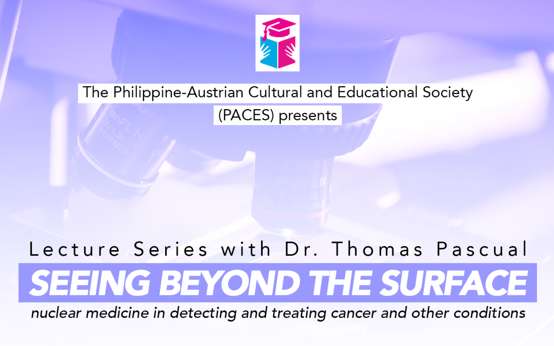 Next PACES lecture to focus on applications of nuclear medicine