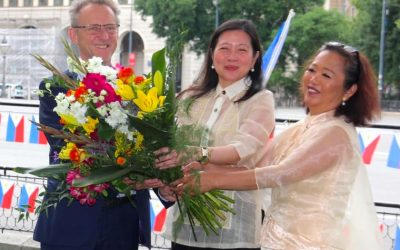 PACES Leads Floral Offering at 123rd Anniversary of the Proclamation of Philippine Independence