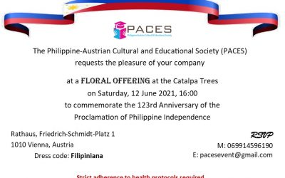 PACES to organize floral offering at the Vienna Rathauspark